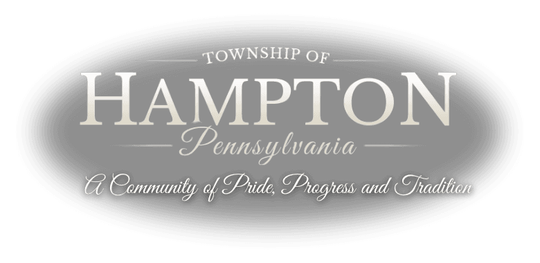 Welcome - Township of Hampton Pennsylvania A community of pride progress and tradition